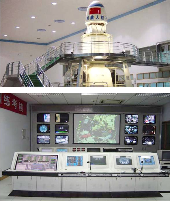 Training Simulator for Manned Spaceship -Simulation System